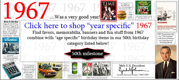 Click here to shop 50th Birthday