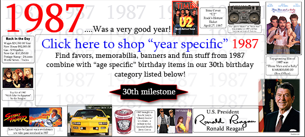 Click here to shop 30th Birthday
