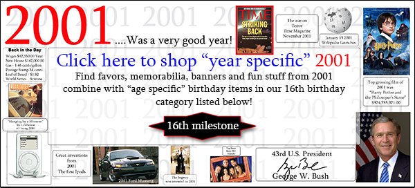 Click here to shop 2001-21st Birthday Party Supplies