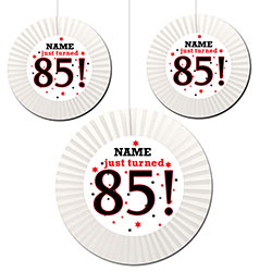 Accordian Fans Are Great Hanging Decorations That Will Announce Your Event With Festive Class Printed Two Sides Simple And Easy To Hang