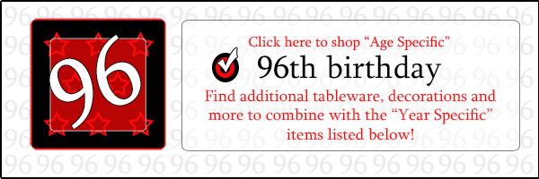 96th Birthday Party Supplies