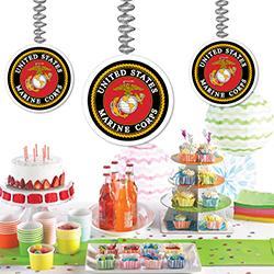 us marines party supplies - armed forces party ideas - marine