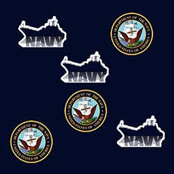 Description Sheet Of 24 Stickers Us Navy Sticker High Quality Great For Favors Sealing Envelopes And Fun