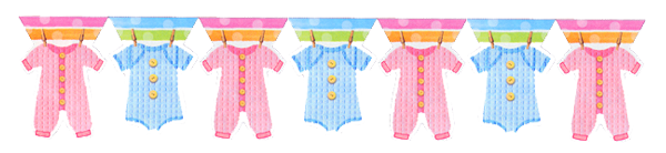 Baby Shower Baby Clothes Party Supplies