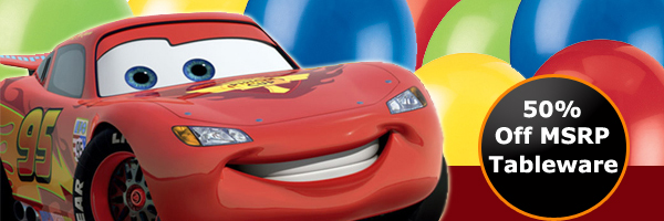 Bulk Disney Cars 2 Party Supplies