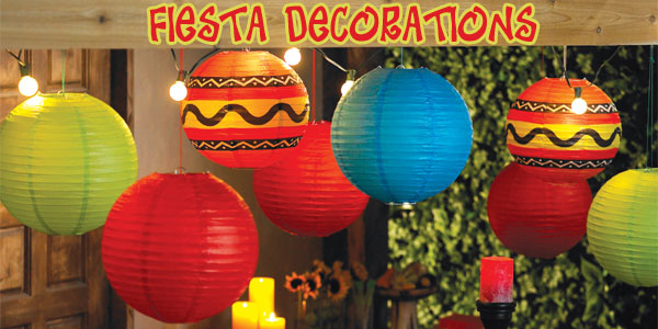 Fiesta Hanging Decorations Party Supplies