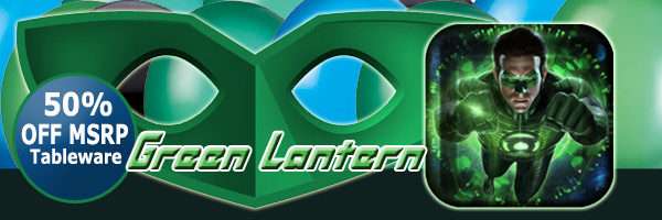 Green Lantern Bulk Party Supplies