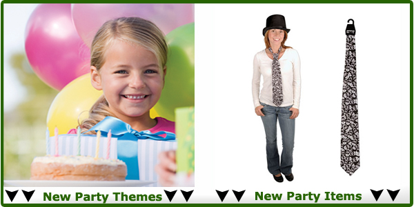 New Party Themes and Birthday Party Supplies
