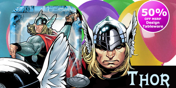 Bulk Thor Party Supplies