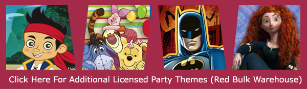 Bulk Licensed Birthday Party Supplies