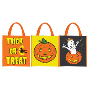 Click for larger picture of HALLOWEEN TREAT BAGS PARTY SUPPLIES