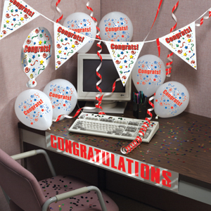 OFFICE DECORATIONS & all theme parties party supplies - for the office