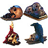 DISCONTINUED SKULL CUTOUT DECORATIONS PARTY SUPPLIES