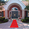 RED SIDEWALK AISLE RUNNER (15 FT.) PARTY SUPPLIES