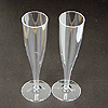 5OZ 1PIECE CHAMPAGNE FLUTE (10 CT.) PARTY SUPPLIES