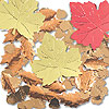 DISCONTINUED OVERSIZED CONFETTI LEAVES PARTY SUPPLIES