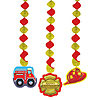 FIREFIGHTER DANGLING CUTOUTS PARTY SUPPLIES