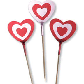 BULK VALENTINE PICK CANDLES & PICKS
