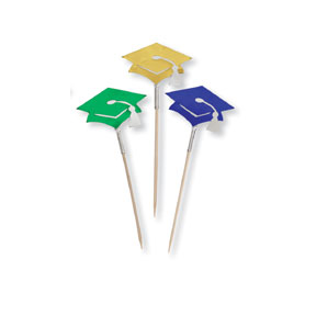 BULK GRADUATION CANDLES & PICKS
