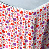 DISCONTINUED VALENTINE HEART TABLESKIRT PARTY SUPPLIES