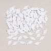 WHITE MORTARBOARD CONFETTI PARTY SUPPLIES