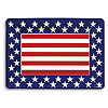 MOLDED PL TRAY 14IN. - PATRIOTIC(12/CS) PARTY SUPPLIES