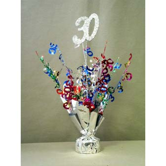 30th Birthday Decorations Accessories Party Supplies Rh Partypro Com Centerpieces For Him