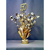 50TH ANNIVERSARY CENTERPIECE-BALLOON WT PARTY SUPPLIES