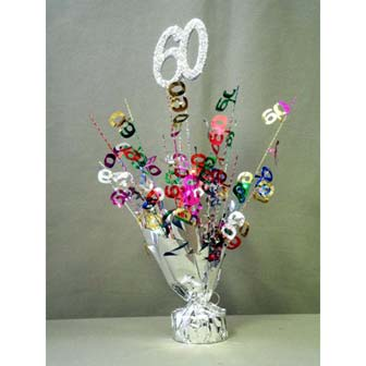 60th birthday decorations accessories party supplies 60th birthday centerpieceballoon weight