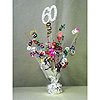 60TH BIRTHDAY CENTERPIECE-BALLOON WEIGHT PARTY SUPPLIES