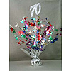 70TH BIRTHDAY CENTERPIECE-BALLOON WEIGHT PARTY SUPPLIES