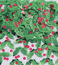 CONFETTI HOLLY & BERRIES PARTY SUPPLIES