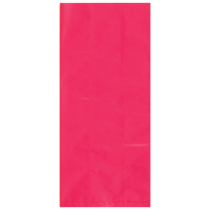 HOT PINK CELLO BAG PARTY SUPPLIES