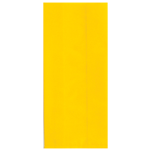 YELLOW CELLOPHANE BAG (LARGE) PARTY SUPPLIES
