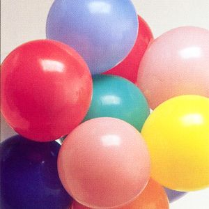 Click for larger picture of ASSORTED ROUND BALLOONS 9