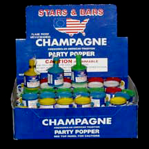 Click for larger picture of PARTY POPPERS (1440 PARTY POPPER/CASE) PARTY SUPPLIES