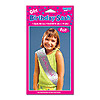 SASH BIRTHDAY GIRL PARTY SUPPLIES