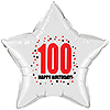 100TH BIRTHDAY STAR BALLOON PARTY SUPPLIES