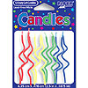 CRAZY CURL PRIMARY CANDLE PARTY SUPPLIES