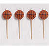 BASKETBALL PICK CANDLE PARTY SUPPLIES