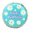 SUNNY DAYS BIRTHDAY MYLAR BALLOON (18IN) PARTY SUPPLIES