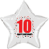 10TH BIRTHDAY STAR BALLOON PARTY SUPPLIES