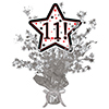 11! SILVER STAR CENTERPIECE PARTY SUPPLIES