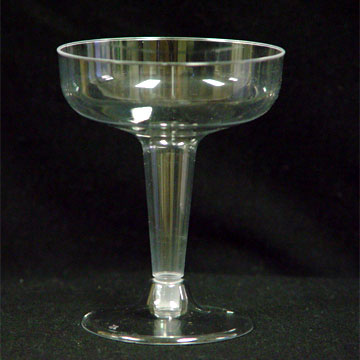 Click for larger picture of 4OZ CLEAR CHAMPAGNE CUP 20/PKG PARTY SUPPLIES
