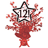 12! RED STAR CENTERPIECE PARTY SUPPLIES