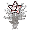 12! SILVER STAR CENTERPIECE PARTY SUPPLIES