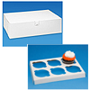CUPCAKE BOX WITH INSERTS (HOLDS 12) PARTY SUPPLIES
