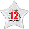 12TH BIRTHDAY STAR BALLOON PARTY SUPPLIES