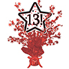 13! RED STAR CENTERPIECE PARTY SUPPLIES