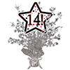 14! SILVER STAR CENTERPIECE PARTY SUPPLIES